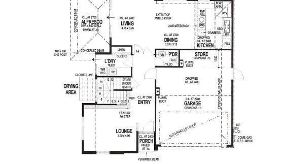Floorplan 51B Ground Floor